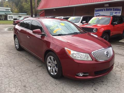 2011 Buick LaCrosse for sale at Tommy's Auto Sales in Inez KY