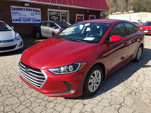 2017 Hyundai Elantra for sale at Tommy's Auto Sales in Inez KY