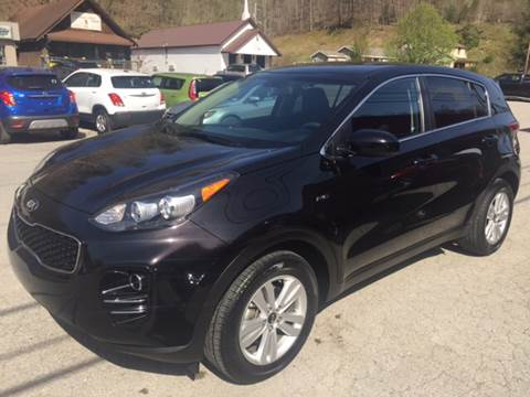 2017 Kia Sportage for sale at Tommy's Auto Sales in Inez KY