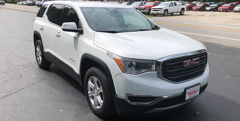 2017 GMC Acadia for sale at Tommy's Auto Sales in Inez KY