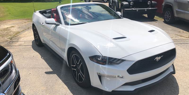 2018 Ford Mustang for sale at Tommy's Auto Sales in Inez KY