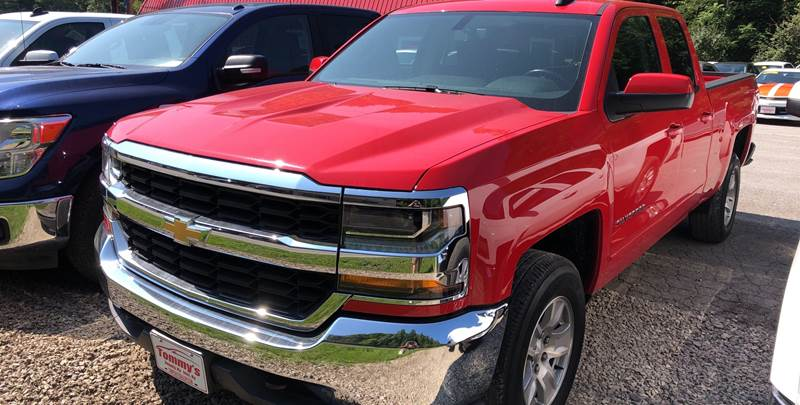 2018 Chevrolet Silverado 1500 for sale at Tommy's Auto Sales in Inez KY
