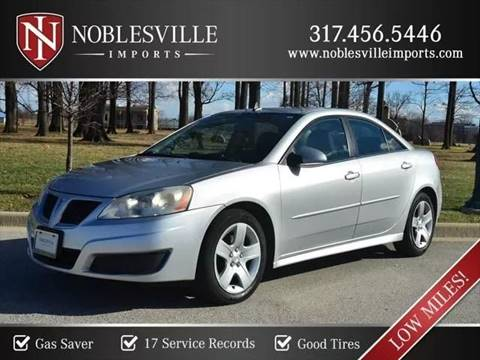 2010 Pontiac G6 for sale in Noblesville, IN