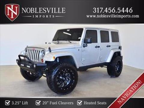 2012 Jeep Wrangler Unlimited for sale in Noblesville, IN