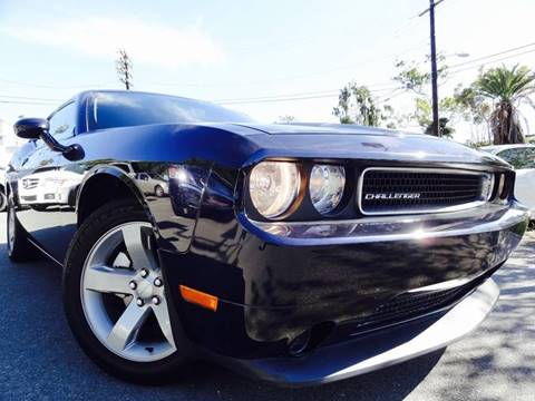 2012 Dodge Challenger for sale at AUTO CONCEPT SAN DIEGO in San Diego CA