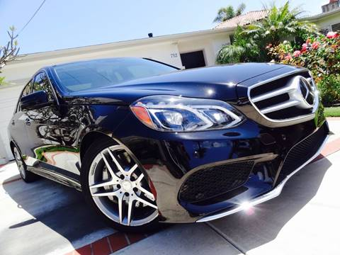 2014 Mercedes-Benz E-Class for sale at AUTO CONCEPT SAN DIEGO in San Diego CA