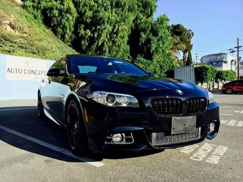 2014 BMW 5 Series for sale at AUTO CONCEPT SAN DIEGO in San Diego CA