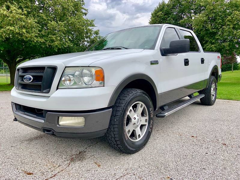 2005 Ford F-150 Fx4 4dr Supercrew 4wd Styleside 5.5 Ft. Sb