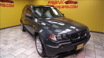 2005 BMW X3 for sale in Elmwood Park, NJ
