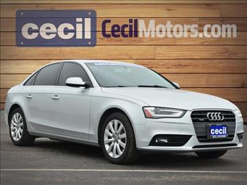 2013 Audi A4 for sale in Hondo, TX