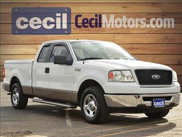 2006 Ford F-150 for sale in Hondo, TX