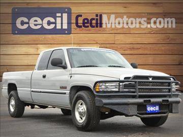 2000 dodge ram pickup 2500 for sale in hondo tx - Red 2005 Dodge Ram 1500 Lifted