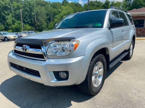 2007 Toyota 4Runner for sale at Elite Motors in Uniontown PA