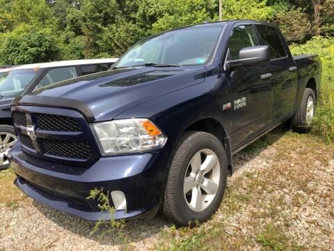 2015 RAM Ram Pickup 1500 for sale at Elite Motors in Uniontown PA