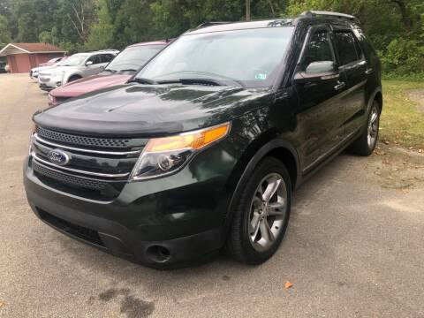 2013 Ford Explorer for sale at Elite Motors in Uniontown PA