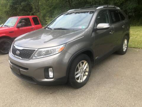 2015 Kia Sorento for sale at Elite Motors in Uniontown PA