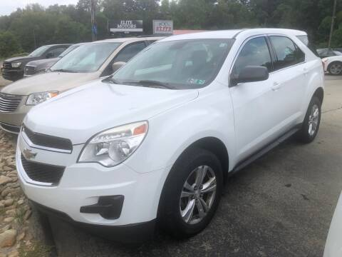2014 Chevrolet Equinox for sale at Elite Motors in Uniontown PA