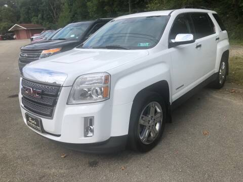 2013 GMC Terrain for sale at Elite Motors in Uniontown PA