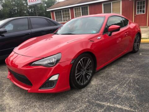 2016 Scion FR-S for sale at Elite Motors in Uniontown PA