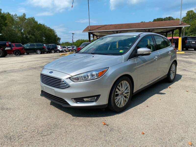 2017 Ford Focus for sale at Elite Motors in Uniontown PA