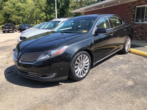 2013 Lincoln MKS for sale at Elite Motors in Uniontown PA