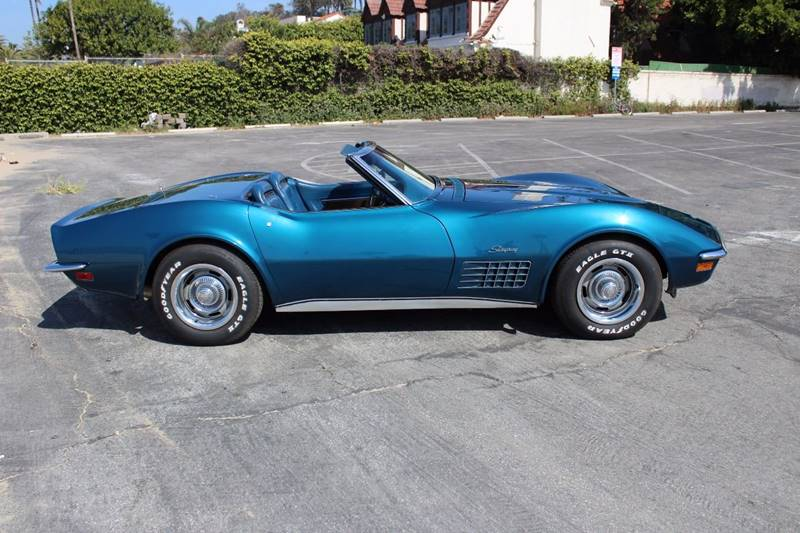 1972 Chevrolet Corvette for sale at CARS WITH CLASS in Santa Monica CA