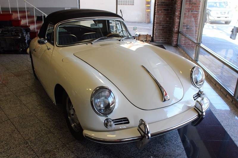 1963 Porsche 356 B Cabriolet for sale at CARS WITH CLASS in Santa Monica CA