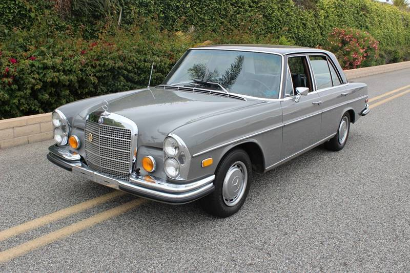 1972 Mercedes Benz 280 Class For Sale At CARS WITH CLASS In Santa Monica