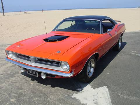 1970 Plymouth Barracuda for sale at CARS WITH CLASS in Santa Monica CA
