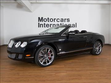 2011 Bentley Continental GTC Speed for sale in Springfield, MO
