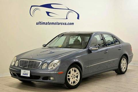 2006 Mercedes-Benz E-Class for sale in Midlothian, VA