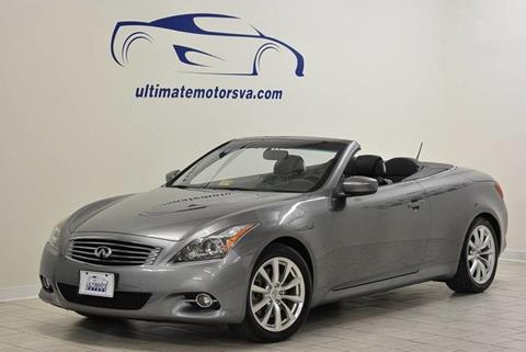2011 Infiniti G37 Convertible for sale in Midlothian, VA
