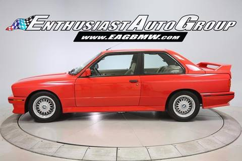 1988 BMW M3 For Sale  Carsforsalecom