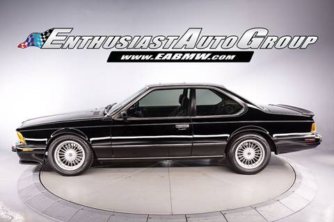 BMW M For Sale Carsforsalecom - 1988 bmw m6 for sale