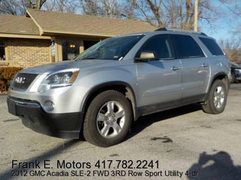 2012 GMC Acadia for sale in Joplin, MO
