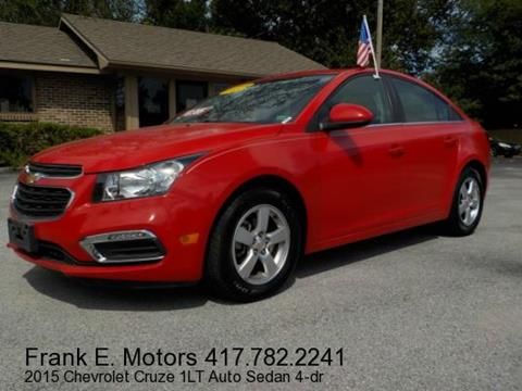 2015 Chevrolet Cruze for sale in Joplin, MO