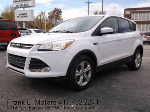 2014 Ford Escape for sale in Joplin, MO