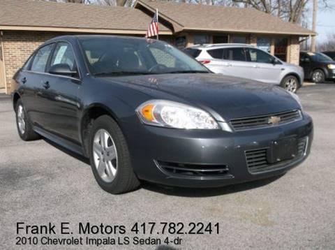 2010 Chevrolet Impala for sale in Joplin, MO