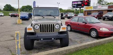 2002 Jeep Wrangler for sale in Dayton, OH