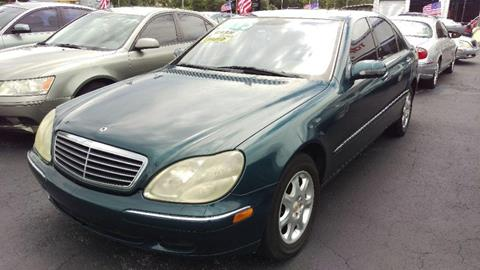 2000 Mercedes-Benz S-Class for sale in Jacksonville, FL