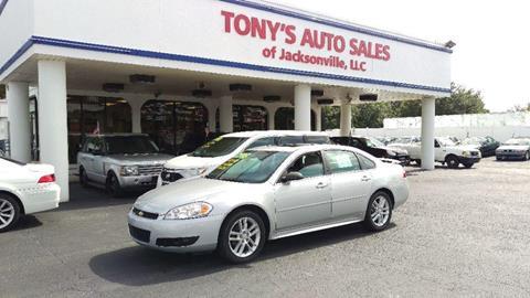 Car Dealerships In Jacksonville Fl >> Chevrolet For Sale In Jacksonville Fl Tony S Auto Sales