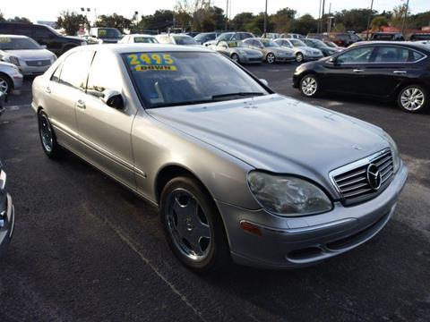 Mercedes Jacksonville Fl >> 2003 Mercedes Benz S Class For Sale In Jacksonville Fl