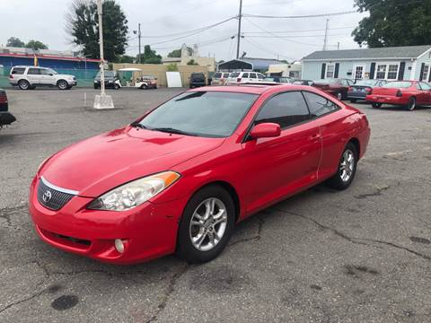 2006 Toyota Camry Solara for sale at LINDER'S AUTO SALES in Gastonia NC