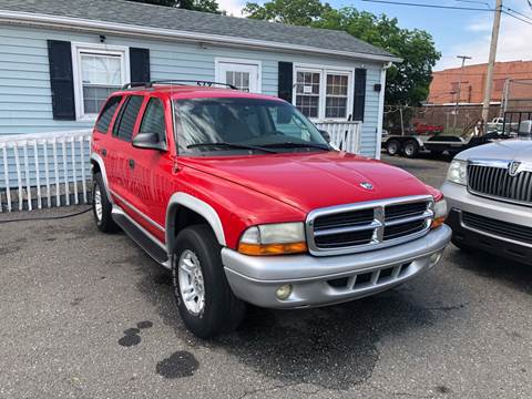 2003 Dodge Durango for sale at LINDER'S AUTO SALES in Gastonia NC