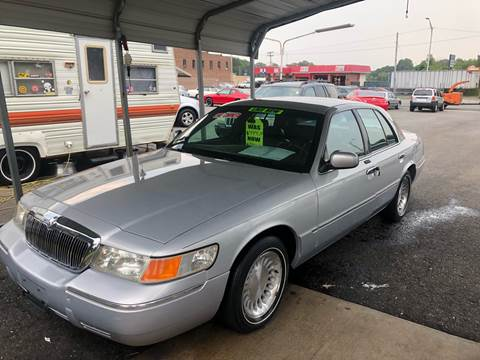 2002 Mercury Grand Marquis for sale at LINDER'S AUTO SALES in Gastonia NC