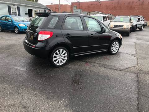 2013 Suzuki SX4 Sportback for sale at LINDER'S AUTO SALES in Gastonia NC