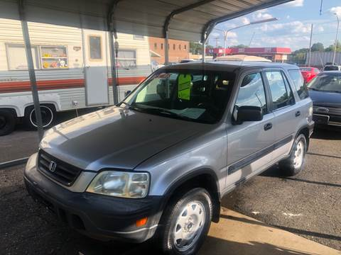 2001 Honda CR-V for sale at LINDER'S AUTO SALES in Gastonia NC