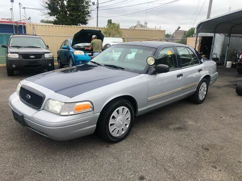 2010 Ford Crown Victoria for sale at LINDER'S AUTO SALES in Gastonia NC