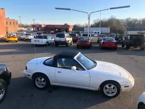 1992 Mazda MX-5 Miata for sale at LINDER'S AUTO SALES in Gastonia NC