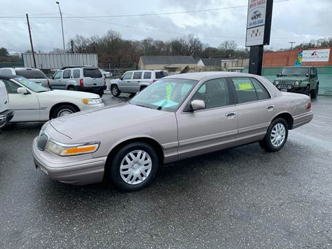 1995 Mercury Grand Marquis for sale at LINDER'S AUTO SALES in Gastonia NC
